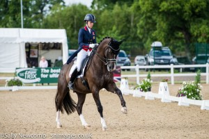 Charlotte Dujardin and Valegro. Photo Sally Newcomb