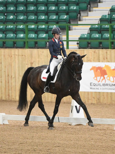 Charlotte Dujardin on Hawtins Delicato. Photo Kevin Sparrow