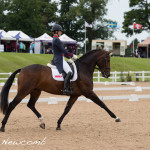 Charlotte Dujardin with Mount St John Freestyle
