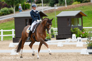Worcestershire dressage rider Kate Cowell, 3rd in the PSG