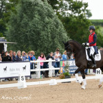 Charlotte Dujardin with Valegro. Photo copyright Sally Newcomb