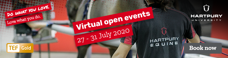 Hartpury Virtual open events