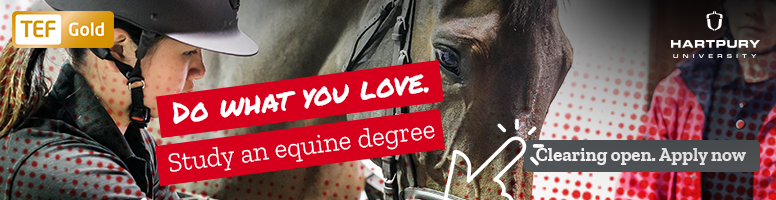 Study for an equine degree at Hartpury